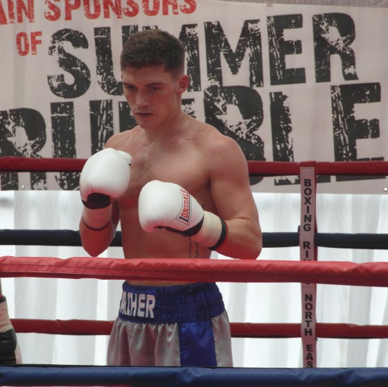 Paul Archer after winning last July at the Summer Rumble.