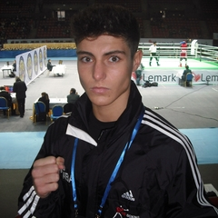 Josh Kelly out in Armenia. Picture credit: ABAE.co.uk